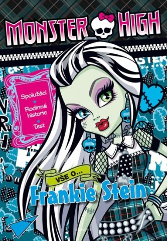 Monster High – Vše o Frankie Stein - Mattel