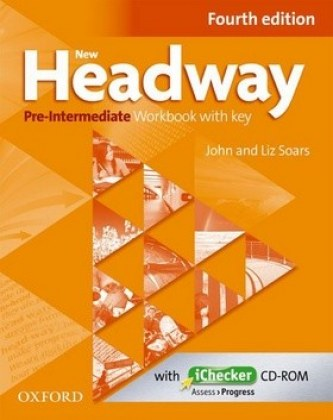 New Headway Pre-Intermediate Workbook Fourth Edition with Key + iChecker CD-rom - John a Liz Soars