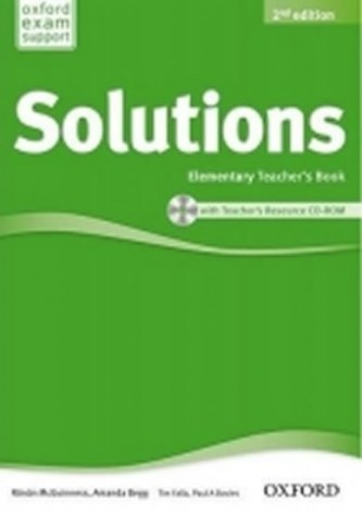 Maturita Solutions Elementary Teacher´s Book with Teacher´s Resource CD ROM 2nd Edition - McGuinnes R.