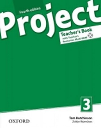 Project Fourth Edition 3 Teacher´s Book with Teacher´s Resources Multirom - Hutchinson Tom