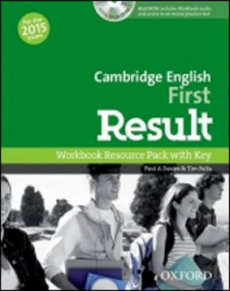 Cambridge English First Result Workbook with Key and Audio CD