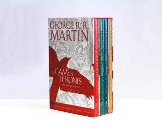 A Game of Thrones - The Graphic Novels Volumes 1 – 4 - Martin George R. R.