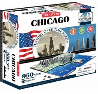 4D City Puzzle Chicago