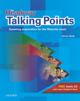 New Headway Talking Points + CD - James Gault