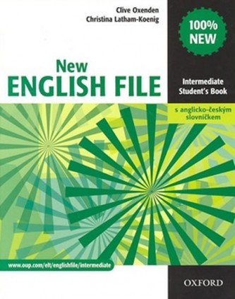 New English file Intermediate Studenťs Book s anglicko-českým slovníčkem